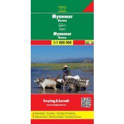 Myanmar térkép Freytag 1:1 000 000