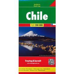 Chile térkép 1:2 000 000  Freytag térkép