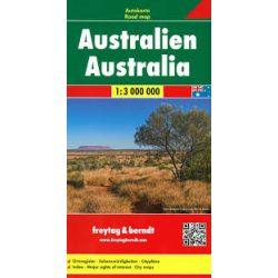 Ausztrália térkép Freytag 1:3 000 000