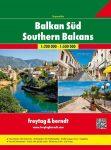 Balkán atlasz, Balkán-Délkelet-Európa Superatlasz Freytag térkép BS SP