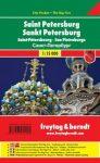 Szentpétervár térkép Freytag 1:15 000 City Pocket várostérkép 2014