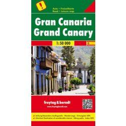 Gran Canaria térkép 1:50 000  Freytag térkép Top 10 Kanári-szigetek térkép