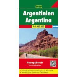 Argentína térkép  Freytag 1:1 500 000