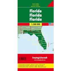 Florida térkép 11. Freytag & Berndt 1:500 000
