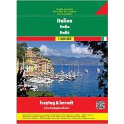 Olaszország atlasz Freytag 1:200 000 2013