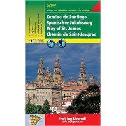 Spanyol Jakab út térkép Freytag & Berndt 1:400 000 GP SPJW