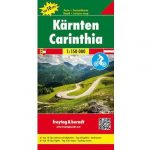 Karintia térkép , Top 10 tipp, 1:150 000  Freytag OE 55    2015