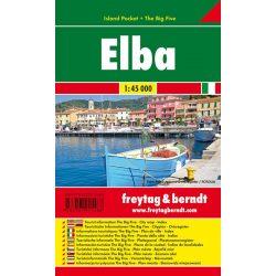 Elba térkép Elba sziget térkép fóliás Freytag 1:45 000