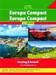 Európa atlasz Freytag & Berndt kompact  1:1 500 000
