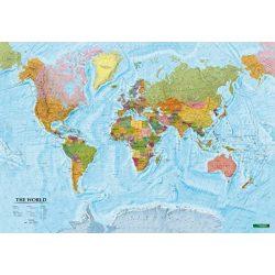 Világ országai falitérkép fóliás Freytag 1:40 000 000   100x70 cm