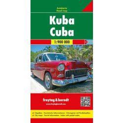 Kuba térkép 1:900 000  Freytag térkép AK 3501