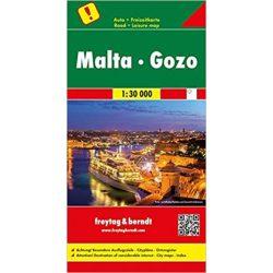 Málta-Gozo, Málta térkép Freytag 1:30 000  AK 9306