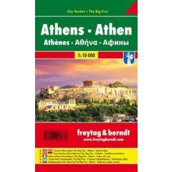 Athén térkép Freytag Pocket fóliás 1:10 000   2018