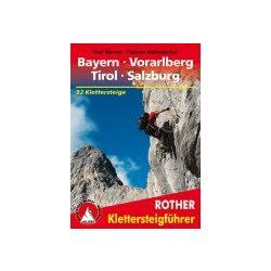 Bayern I Vorarlberg I Tirol I Salzburg túrakalauz Bergverlag Rother német   RO 3094
