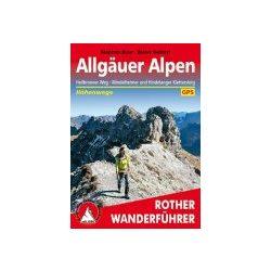 Allgäuer Alpen – Höhenwege und Klettersteige túrakalauz Bergverlag Rother német   RO 3120