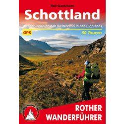 Schottland túrakalauz Bergverlag Rother német   RO 4001