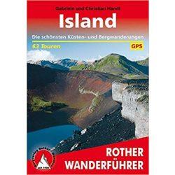 Island túrakalauz Bergverlag Rother német   RO 4005