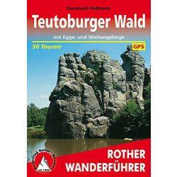 Teutoburger Wald – Mit Egge- und Wiehengebirge túrakalauz Bergverlag Rother német   RO 4020