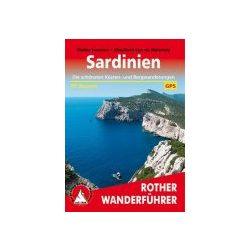 Sardinien túrakalauz Bergverlag Rother német   RO 4023