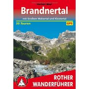 Brandnertal – Mit Großem Walsertal und Klostertal túrakalauz Bergverlag Rother német   RO 4035