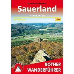 Sauerland túrakalauz Bergverlag Rother német   RO 4038