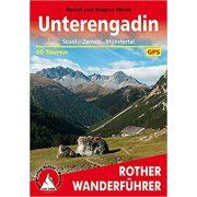 Unterengadin túrakalauz Bergverlag Rother német   RO 4043