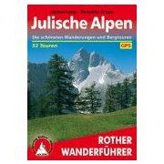 Julische Alpen túrakalauz Bergverlag Rother német   RO 4051