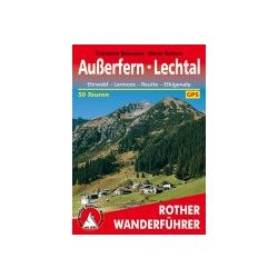 Außerfern I Lechtal túrakalauz Bergverlag Rother német   RO 4055