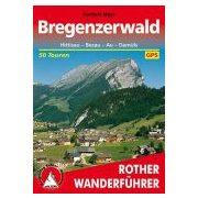 Bregenzerwald túrakalauz Bergverlag Rother német   RO 4088