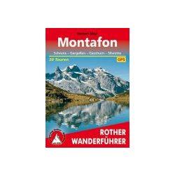 Montafon túrakalauz Bergverlag Rother német   RO 4090