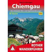 Chiemgau túrakalauz Bergverlag Rother német   RO 4109