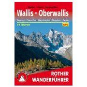Wallis I Oberwallis túrakalauz Bergverlag Rother német   RO 4127
