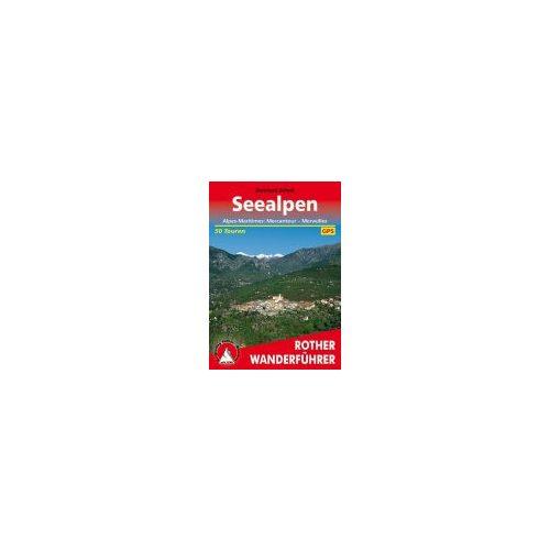 Seealpen túrakalauz Bergverlag Rother német   RO 4146