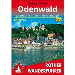 Odenwald túrakalauz Bergverlag Rother német   RO 4151