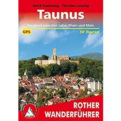 Taunus túrakalauz Bergverlag Rother német   RO 4152