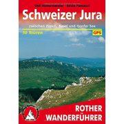 Schweizer Jura – Zwischen Zürich, Basel und Genfer See túrakalauz Bergverlag Rother német   RO 4157