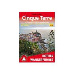 Cinque Terre – Ligurien Ost túrakalauz Bergverlag Rother német   RO 4164