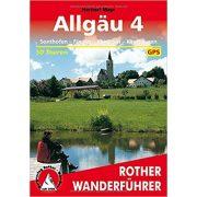 Allgäu 4 – Sonthofen I Füssen I Kempten I Kaufbeuren túrakalauz Bergverlag Rother német   RO 4168