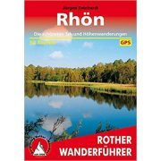 Rhön túrakalauz Bergverlag Rother német   RO 4182