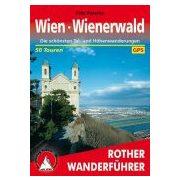 Wien I Wienerwald túrakalauz Bergverlag Rother német   RO 4188