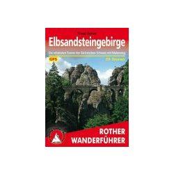 ElbsandsteingebirgeL túrakalauz Bergverlag Rother német   RO 4191