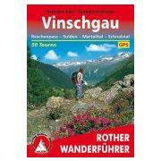 Vinschgau túrakalauz Bergverlag Rother német   RO 4205