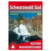 Schwarzwald Süd túrakalauz Bergverlag Rother német   RO 4217