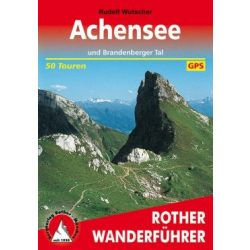 Achensee túrakalauz Bergverlag Rother német   RO 4219