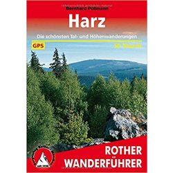Harz túrakalauz Bergverlag Rother német   RO 4257
