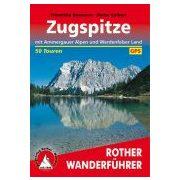 Zugspitze túrakalauz Bergverlag Rother német   RO 4264