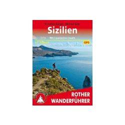 Sizilien – Mit Liparischen Inseln túrakalauz Bergverlag Rother német   RO 4266