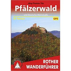 Pfälzerwald und Deutsche Weinstraße túrakalauz Bergverlag Rother német   RO 4268