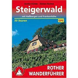 Steigerwald – Mit Haßbergen und Frankenhöhe túrakalauz Bergverlag Rother német   RO 4270
