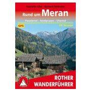 Meran, Rund um túrakalauz Bergverlag Rother német   RO 4290